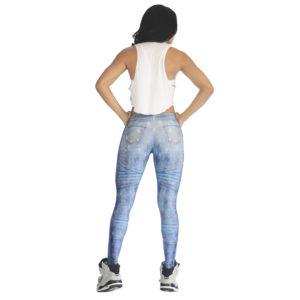 Leggins Jeans Azul Claro