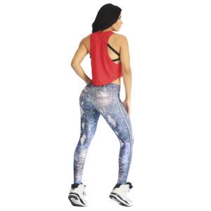 Leggins Jeans Azul Oscuro